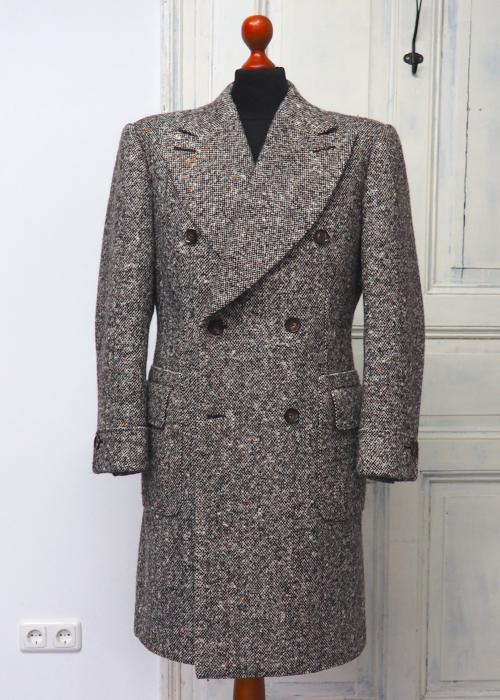 Schwerer Donnegal Tweed Mantel
